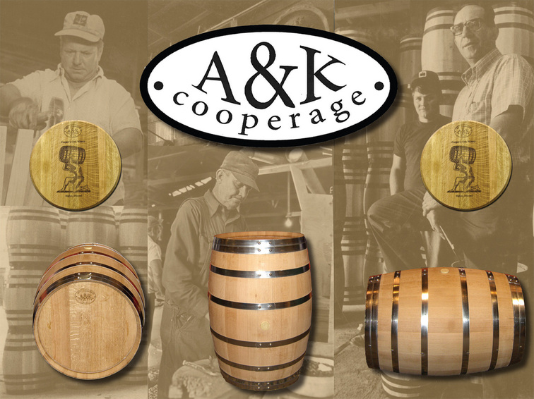 wine barramerican oak missouri oak barrel A&K