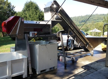 Puleo Vega Series of Destemmer Crusher New Used Winery Equipment